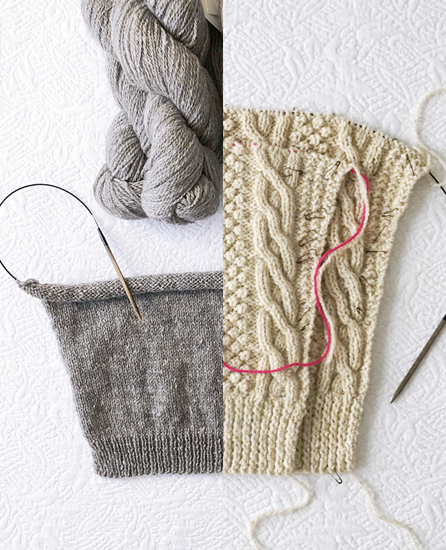 Q for You: What's your knit-stitch happy place?