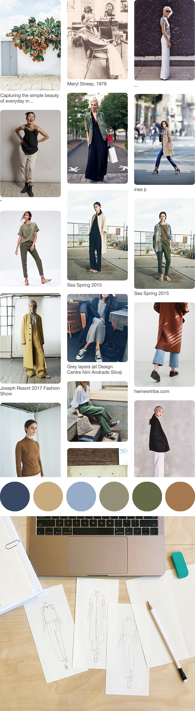 Spring '18 wardrobe planning: Mood and strategy