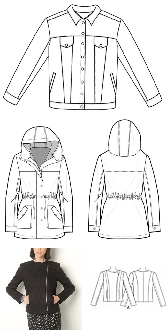 Make Your Own Basics: The jackets