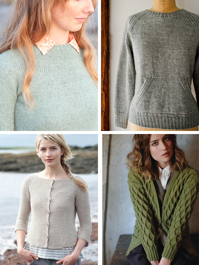 Introduction To Sweater Knitting Construction Types And Starter