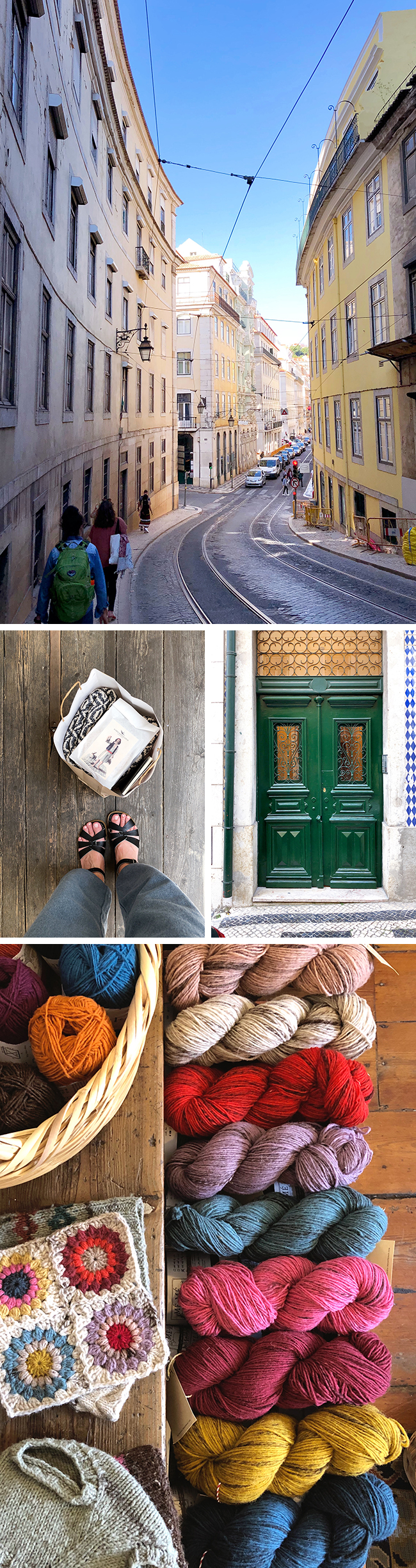 Portugal travel guide: Lisbon and Portuguese knitting