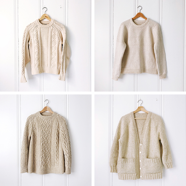 Natural sweater inventory