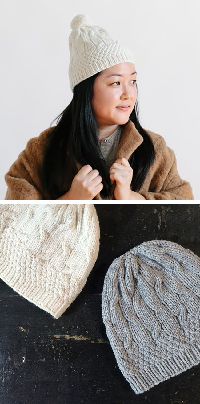 Now available: the Debutant Hat knitting pattern