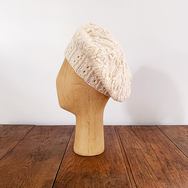 April Hat bobble beret (free pattern)