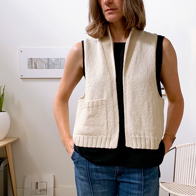 Smock vest, part 2: Pocket and glamour shots