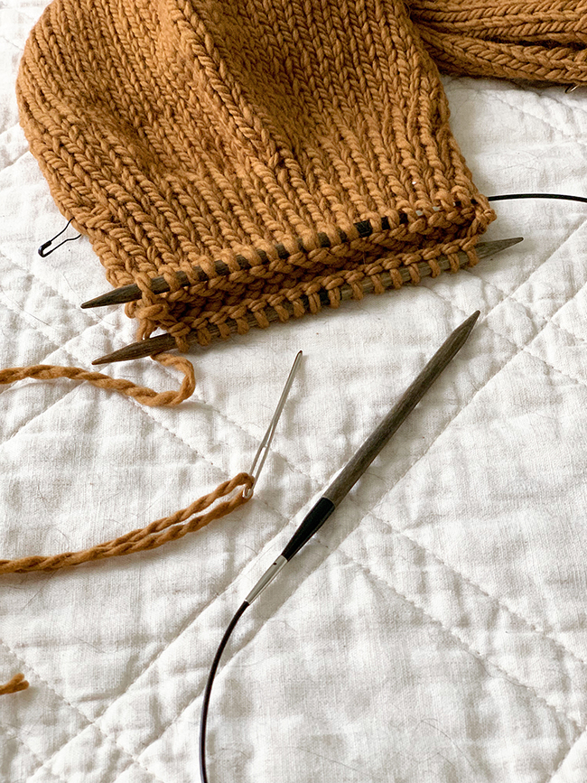 Q for You: What's your knitting time-worthy detail?