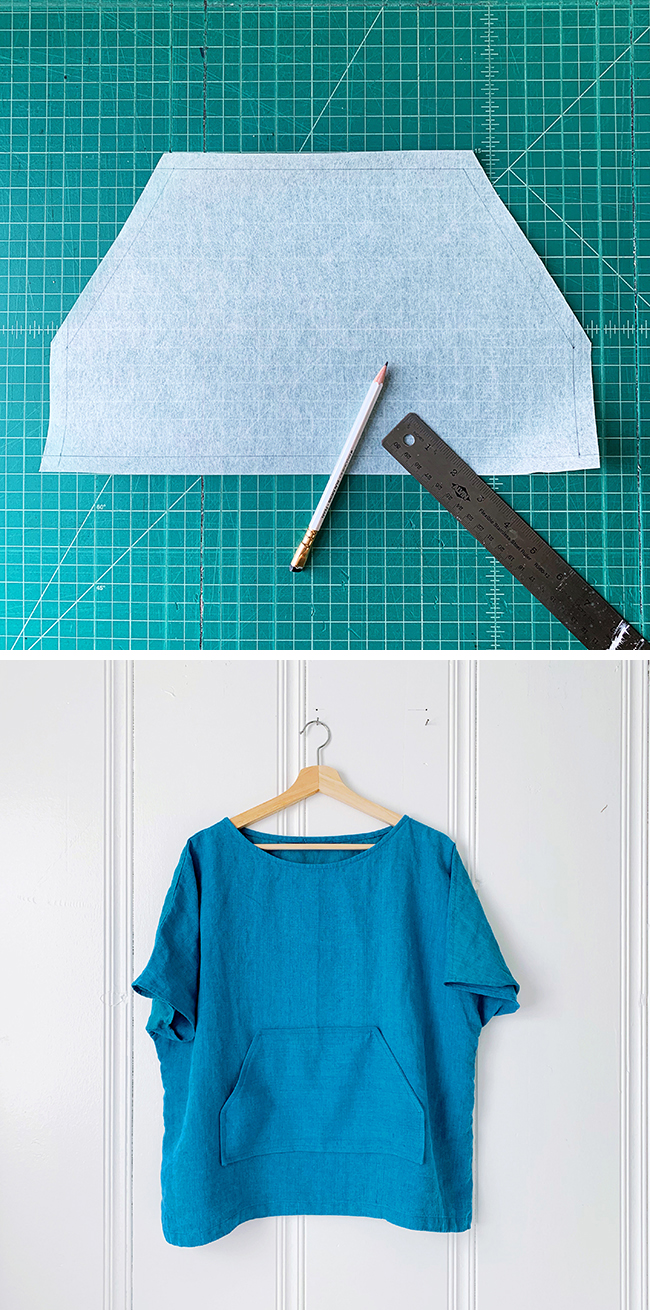 The Details: How to sew a kangaroo pocket