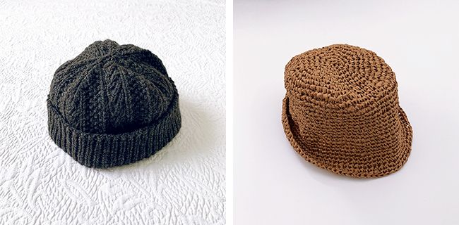 My knitting year in review: Cabled Dad Hat, Joanne hat