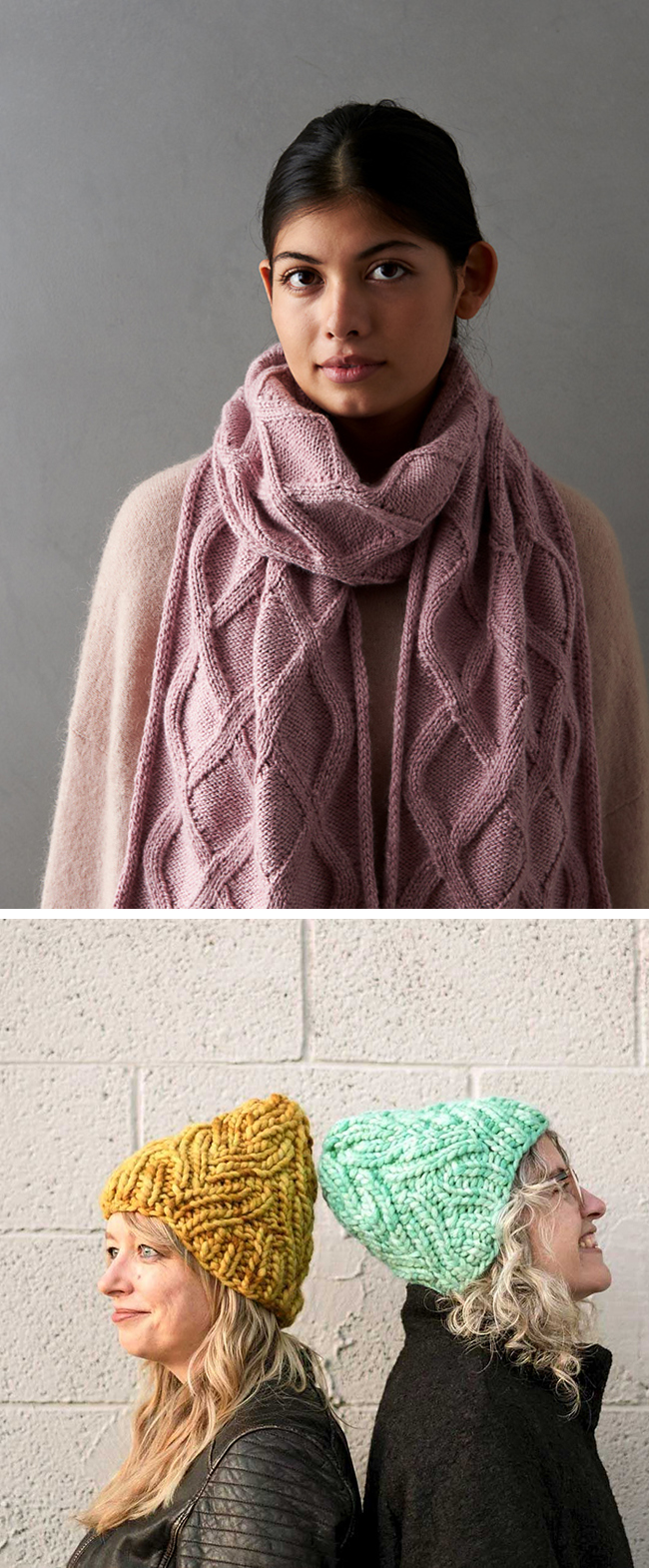 "New Favorites: ""Cable"" knitting patterns for the cable averse"