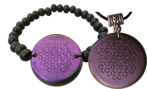 Set-Purple-Bracelet-and-Pendant-Orgonite