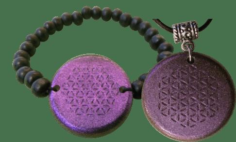 Set-Purple-Bracelet-and-Pendant-Orgonite
