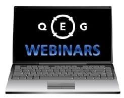 QEG Webinars