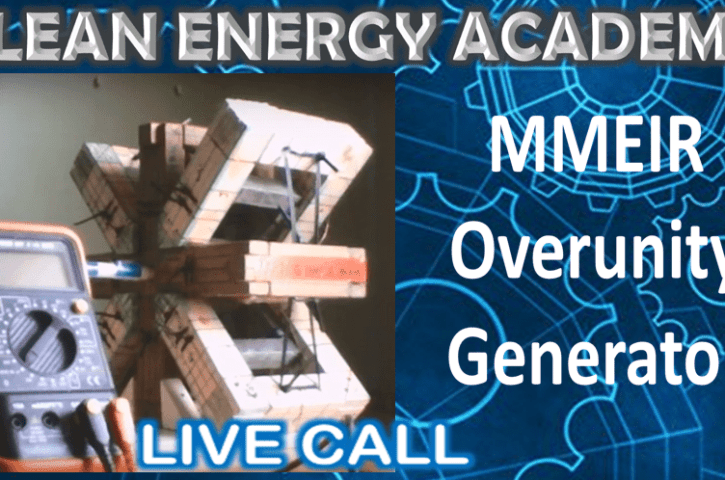 MMEIR Overunity Generator Live Call Sunday October 27 2019