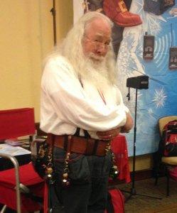 Santa Steve, the most cunning of Santas. Photo by Lynn Waddell