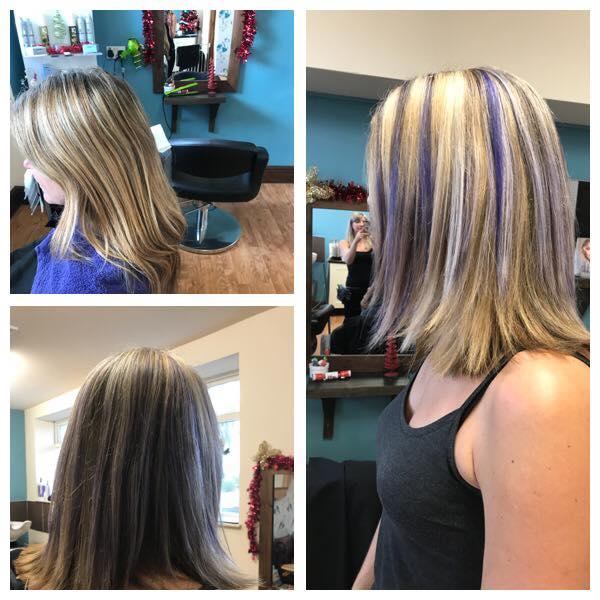 Hair Cut & Colour by Fringe Hair Salon Newquay