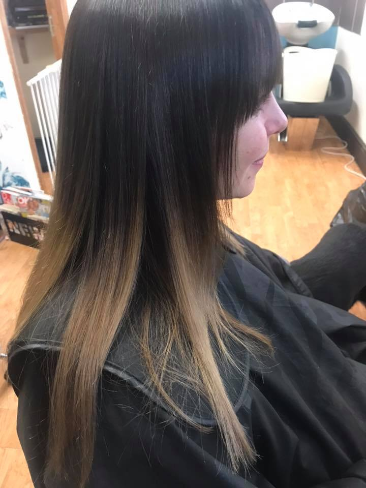 Ombre Hair Colour by Fringe Hair Salon Newquay