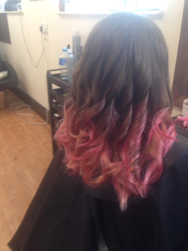 Ombre Hair Colour by Fringe Hair Salon Newquay