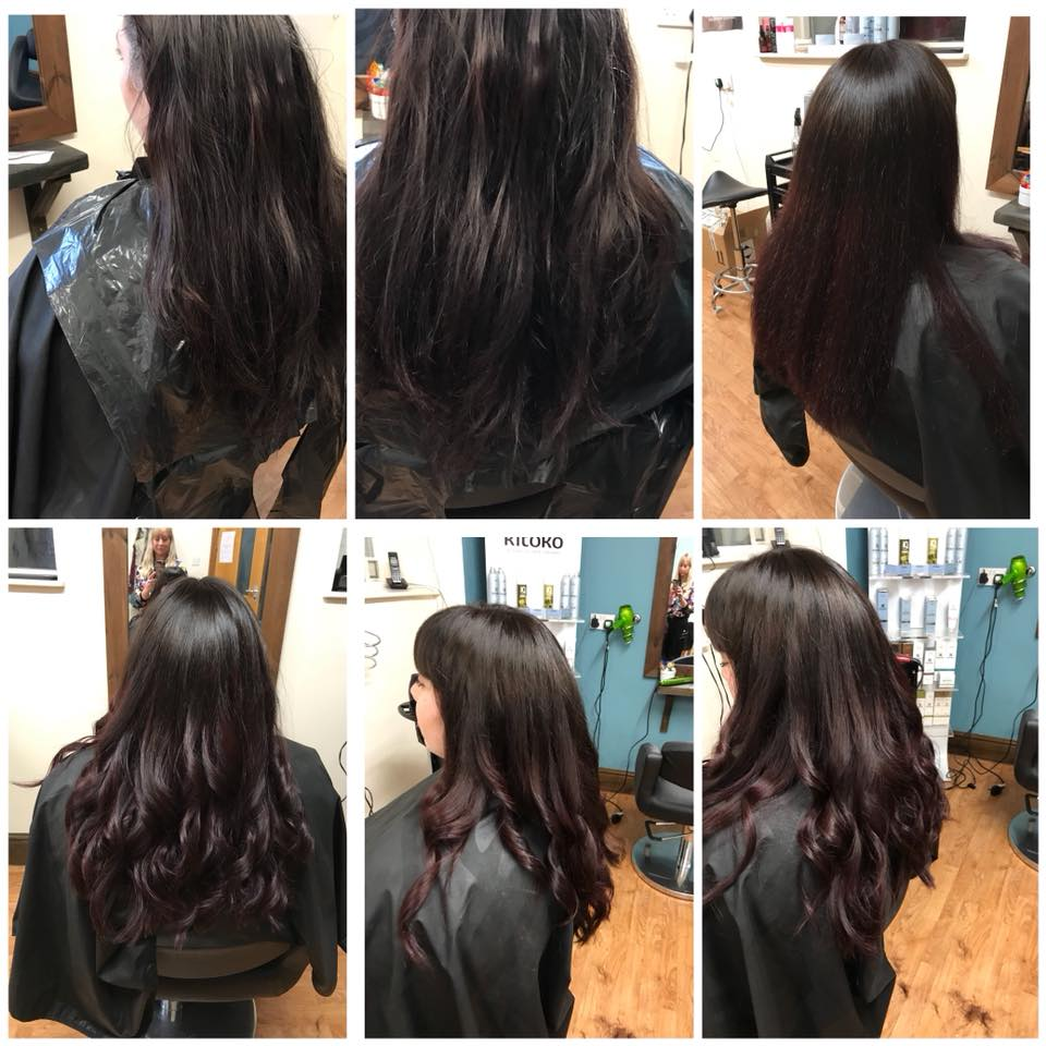 Hair Cut & Ombre Colour by Fringe Hair Salon Newquay