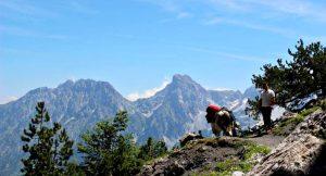 trekking in albania