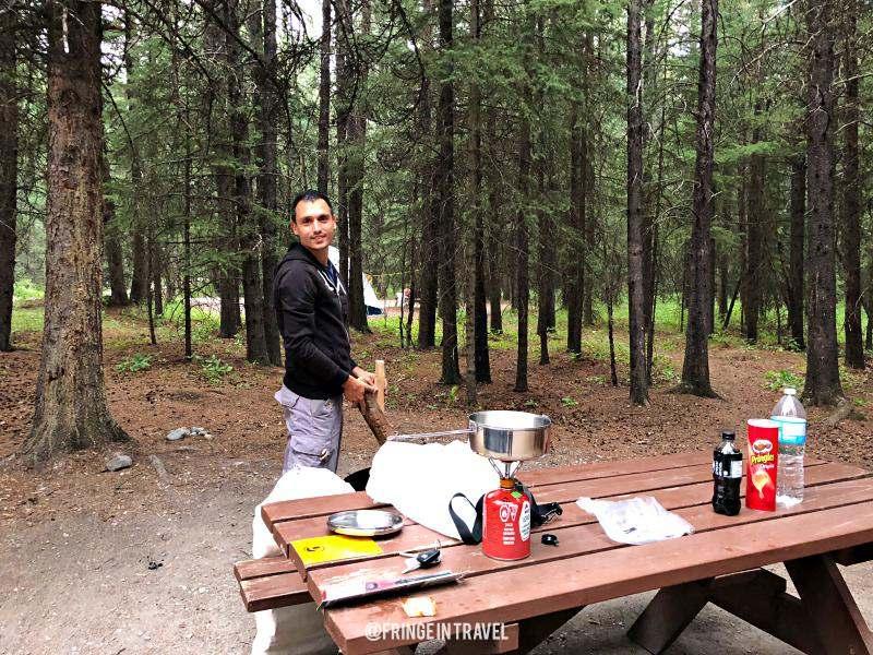 Canada campeggio outdoor piazzola