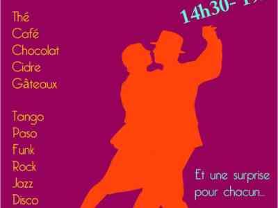 Thé dansant au centre Léo Lagrange 1er avril 2017