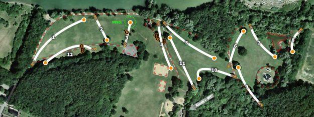 Parcoursplan Beckum