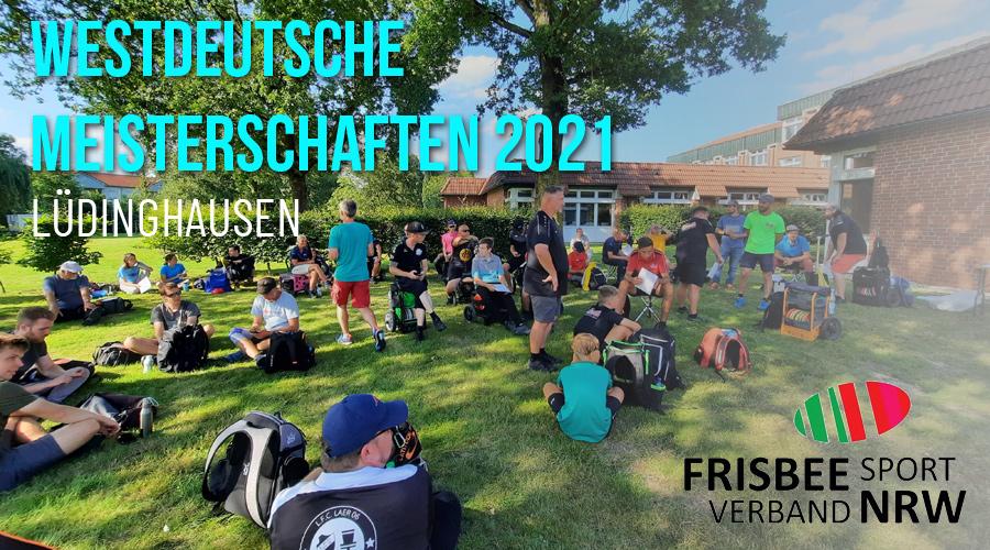 Westdeutsche Meisterschaften im Disc Golf 2021 in Lüdinghausen