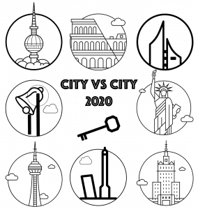 City vs City 2020 Logo