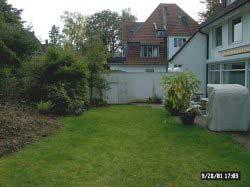 Garten gestalten mit Gartenhaus auf 1.200 qm