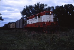 GP7 543 (location unknown) in June 1967
