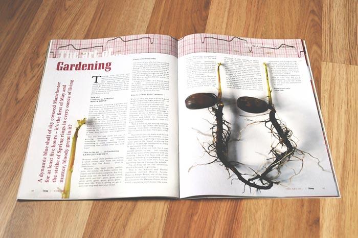 editorial design, Manchester