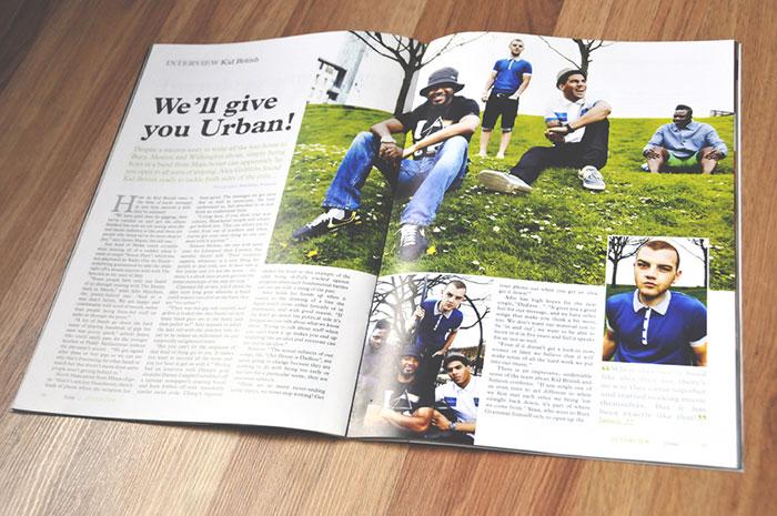 Magazine by Ben Frisbee