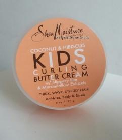 Shea Moisture Kids Curling Butter cream