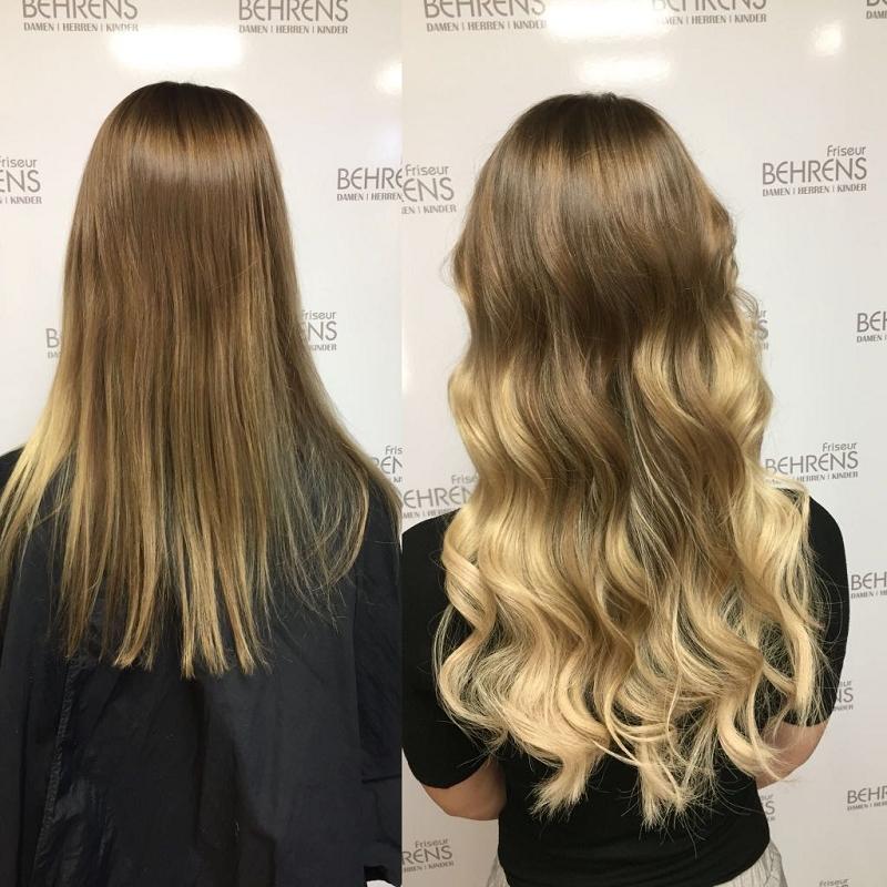 Friseur Haarverlngerung