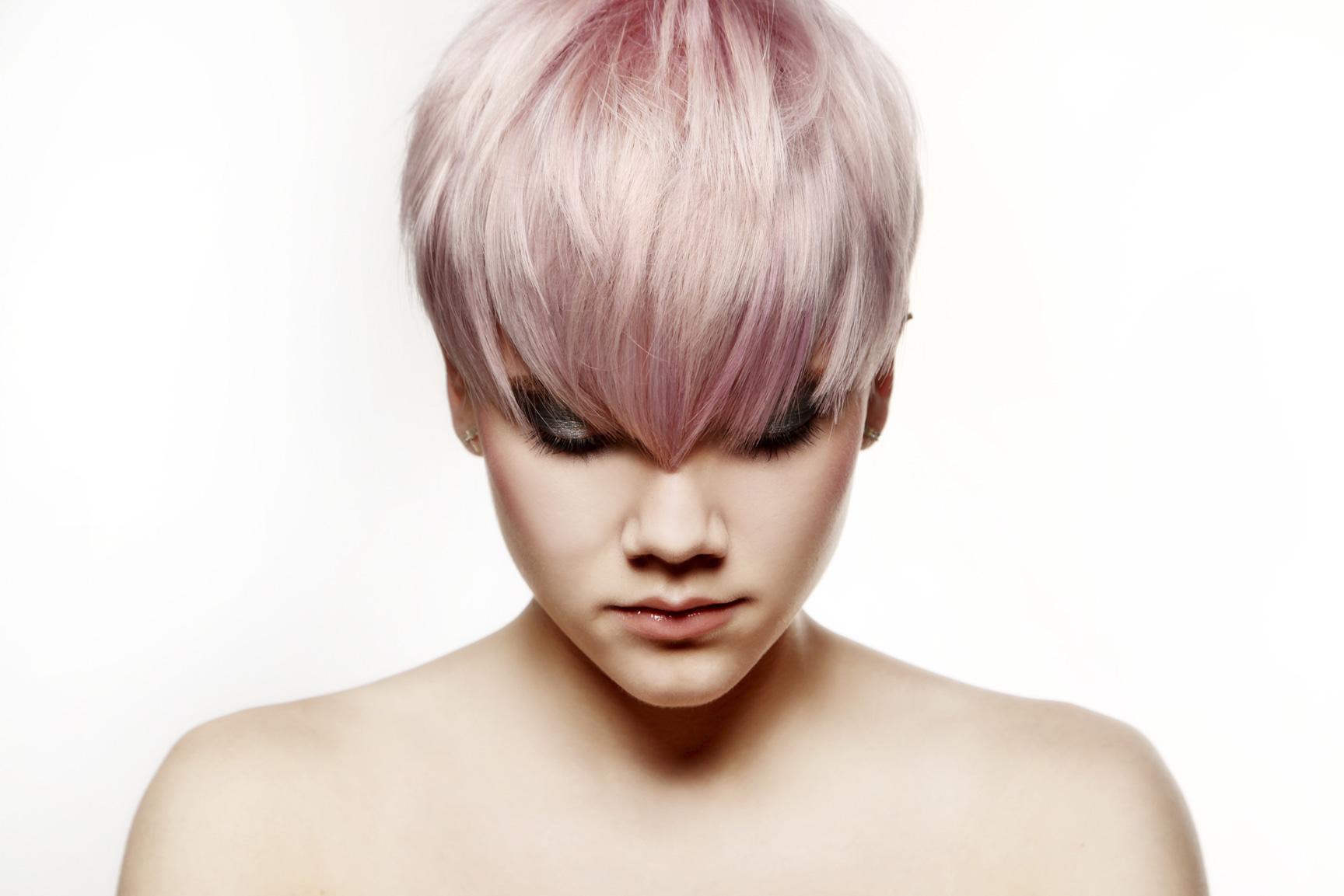Undercut Locken Stylen Undercut Pastellpink Theresa Hairmania By Silke