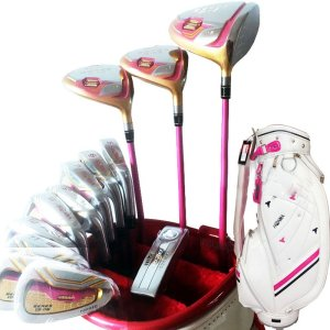 New Womens 4 Star Golf Clubs Honma S-06 Clubs Complete Sets Golf Set Drive Fairway Wood Irons Putter Graphite Shaft And Bag