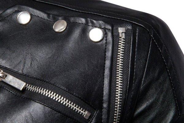 Fashionable Men Genuine Cowhide Leather Jacket