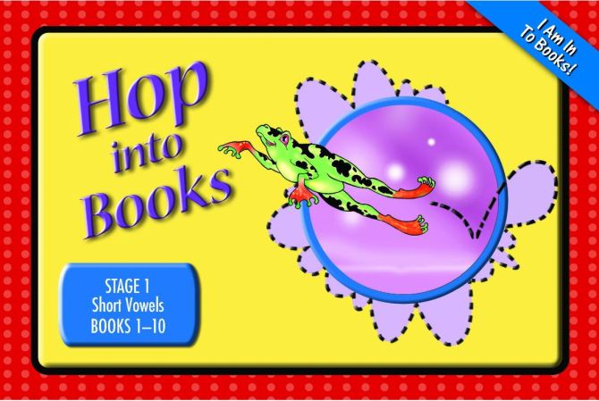 Stage 1 Hop Into Books