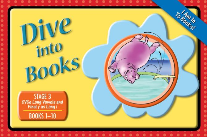 Decodable Phonics Readers Dive Into Books New Stage 3