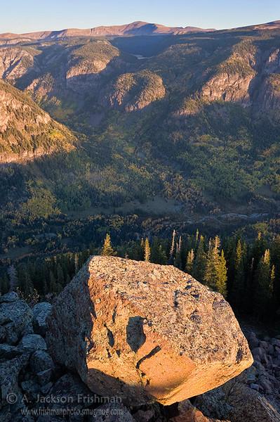 South Fork Conejos canyon, Colorado