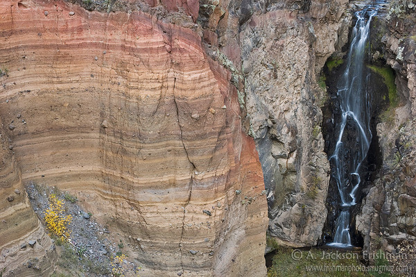 Frijoles Falls, Bandelier National Monument, New Mexico