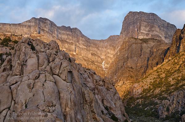Spotlight on Notch Peak, Utah West Desert