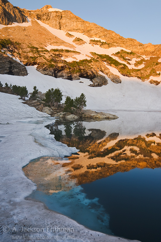 Daybreak at Lamoille Lake, Ruby Mountains, Nevada