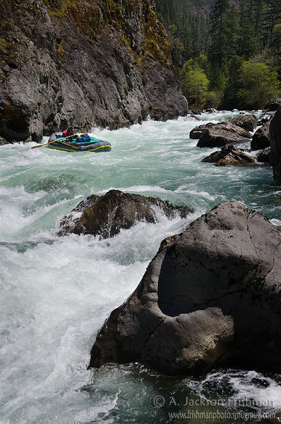 Nolan Verga in Greenwall Rapid
