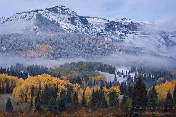 Autumn morning in Colorado's Chama Basin
