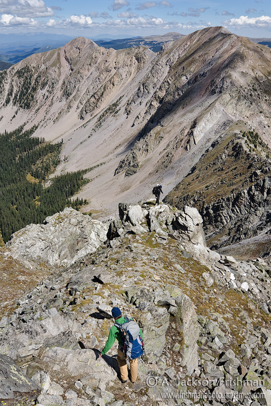 Hiking in the Truchas Peaks, Pecos Wilderness, New Mexico