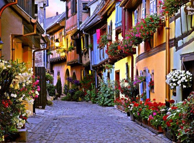 Cidade de Alsace, França