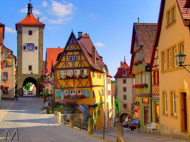 Cidade de Rothenburg, Alemanha