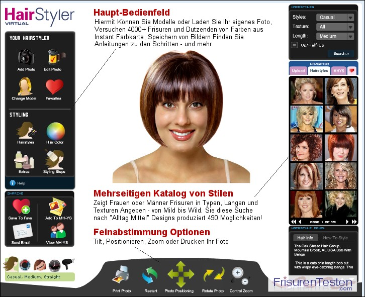 Frisuren Testen Com Laden Sie Ihr Foto Virtuelle Frisuren
