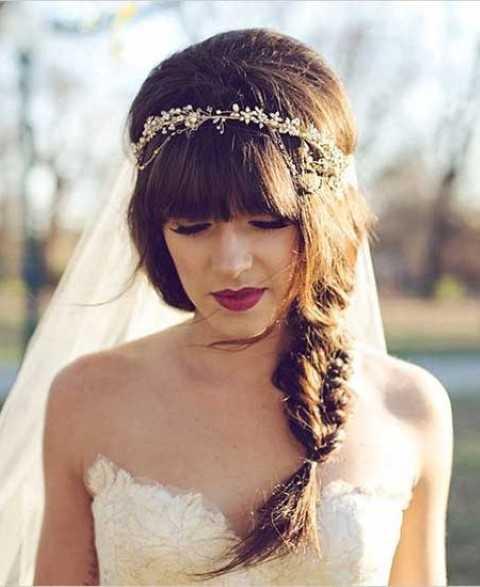Bohemian Hochzeit Frisur Ideen  Frisuren Trends